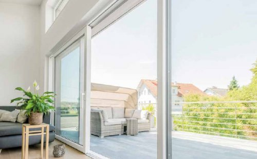 Pose de portes-fenêtres KS430 à Saint-Symphorien-d'Ozon et sa région.