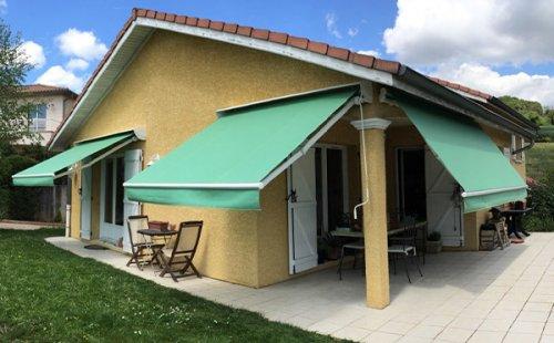 Installation de store NASH, CALYPSO et EPICA à Saint-Symphorien-d'Ozon et sa région.