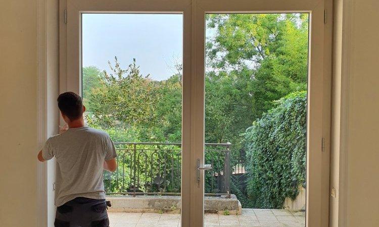 porte fenêtre sur mesure