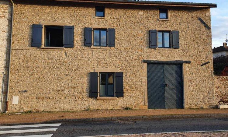 Pose de fenêtre mixte HF410 à Saint-Symphorien-d'Ozon et sa région.