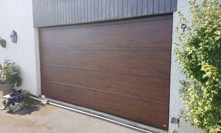 Pose de portes de garage basculantes Wedoor à Saint-Symphorien-d'Ozon et sa région