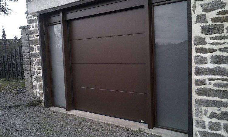 Pose de portes de garage sectionnelles France fermeture à Saint-Symphorien-d'Ozon et sa région
